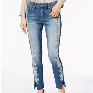 Vintage America Wonderland skinny Ankle Jeans
